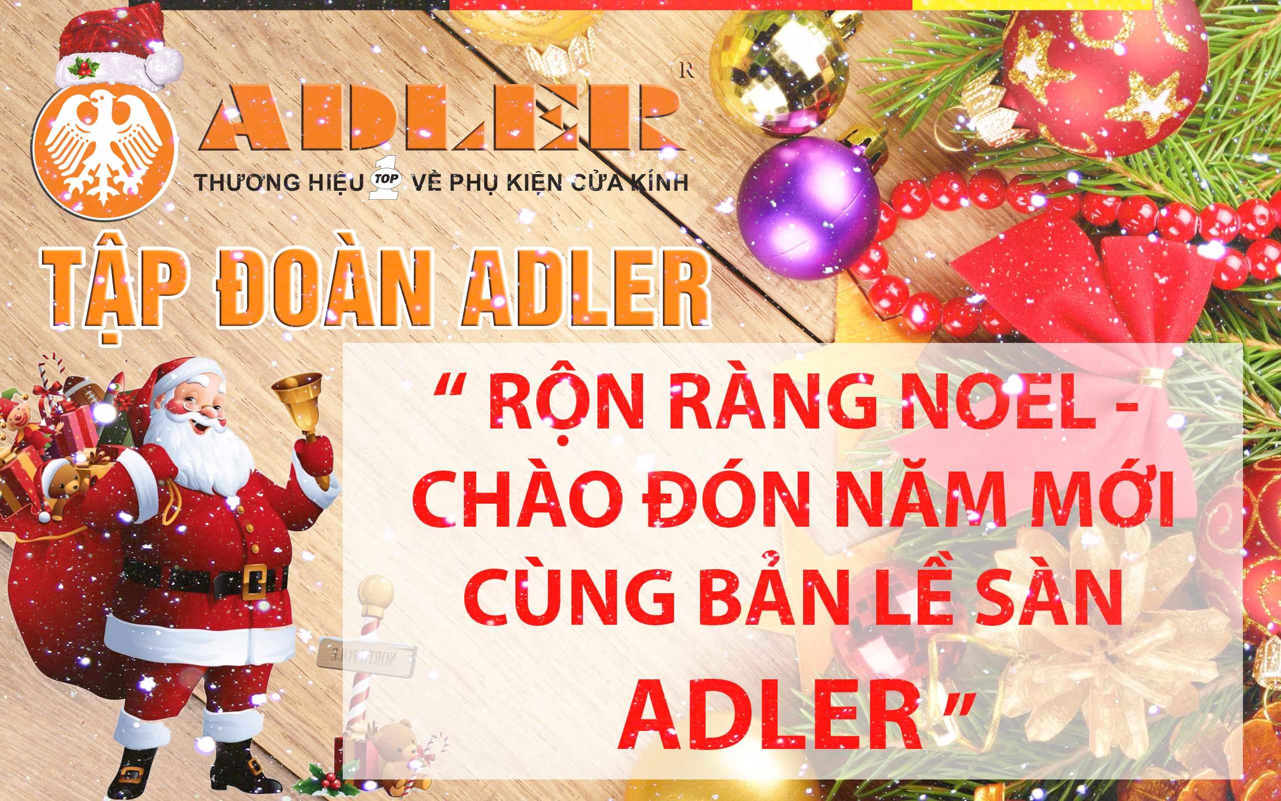 Cùng Adler đón chào Gíang sinh và Năm mới 2017