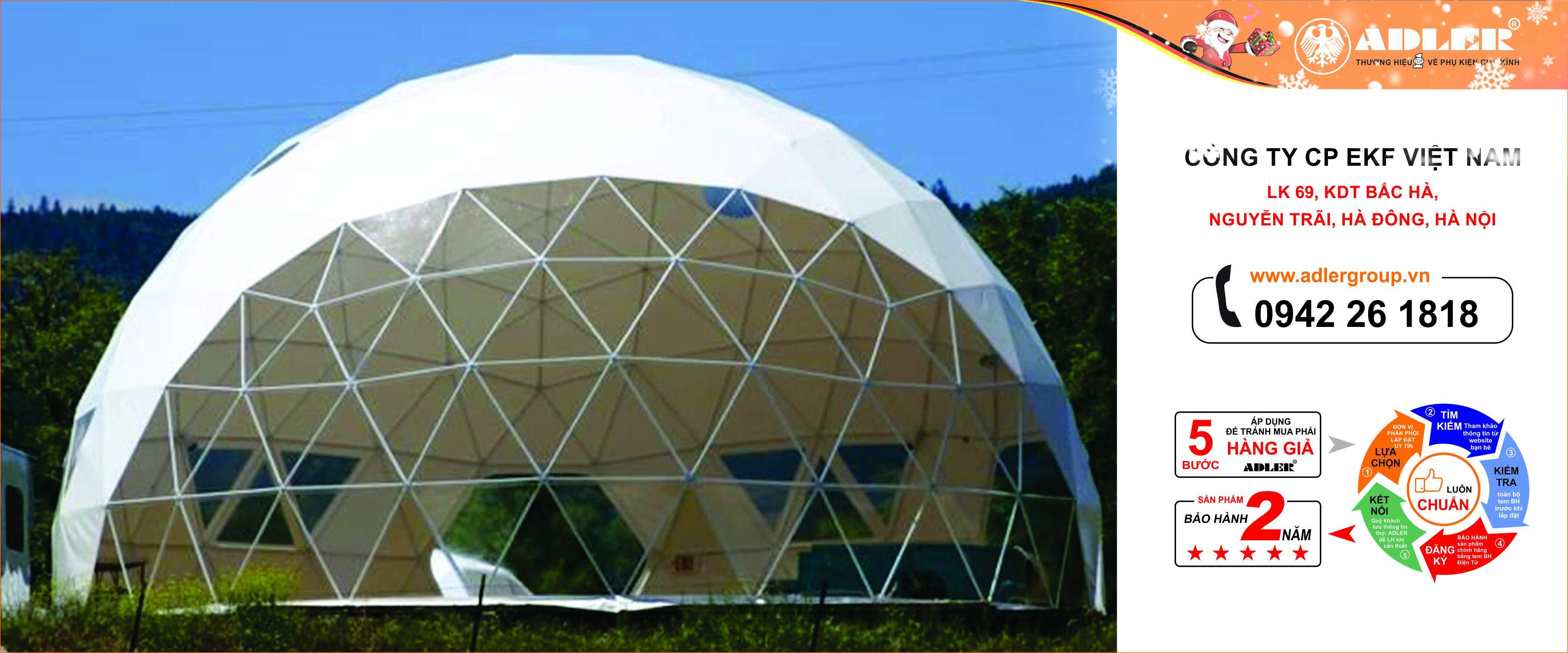 Mái vòm có thể làm nóng hay làm mát căn nhà theo thời tiết.