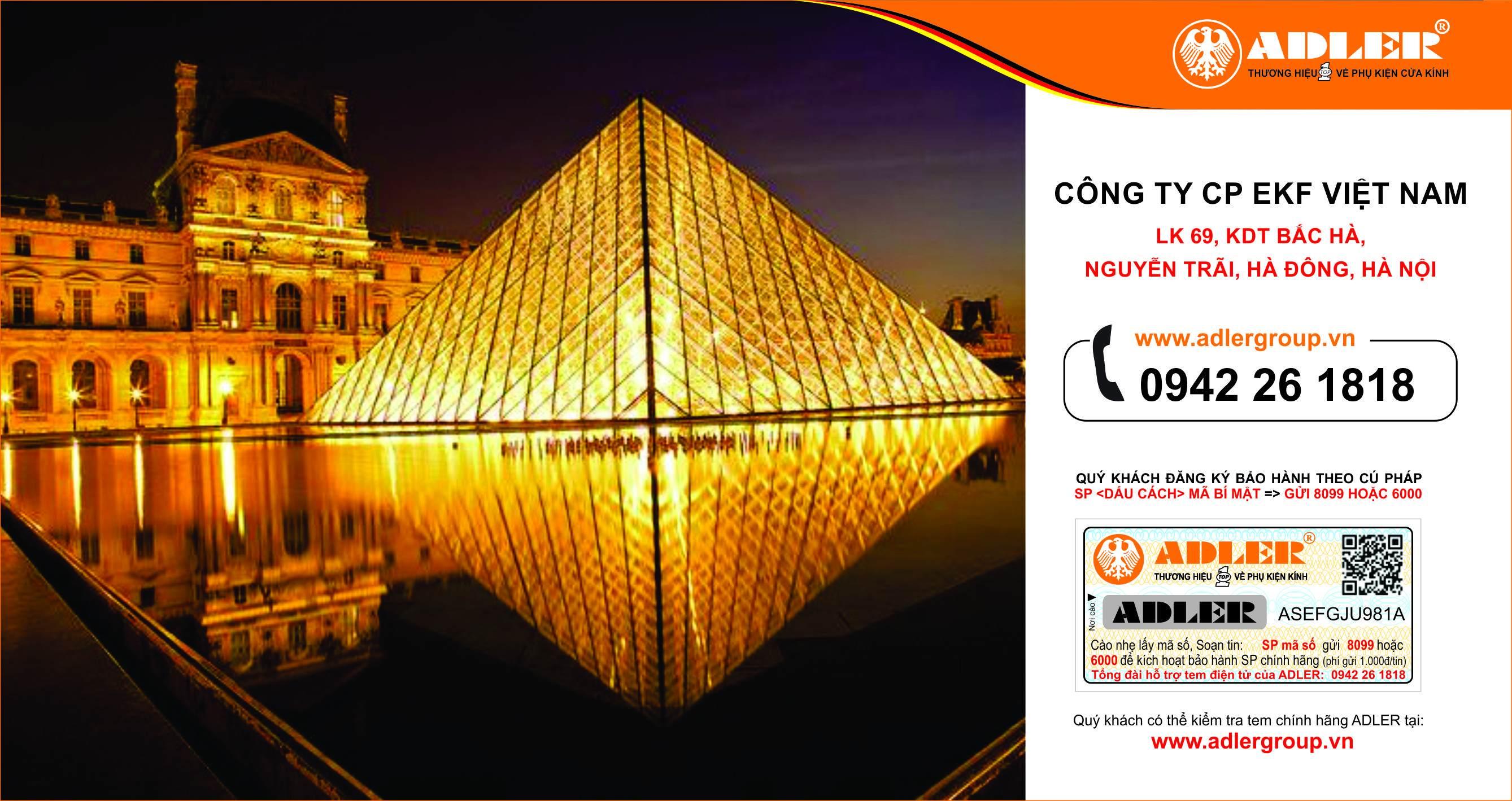 Bảo tàng Louvre Paris rực rỡ ánh sáng với những ô cửa kính cường lực