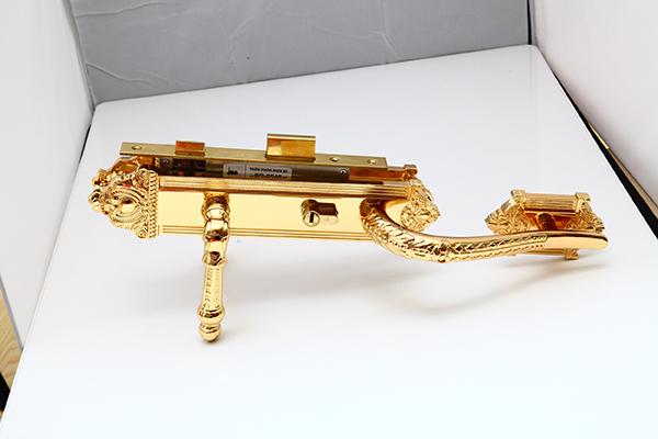 Khóa đồng tôm - Vàng 24K 5
