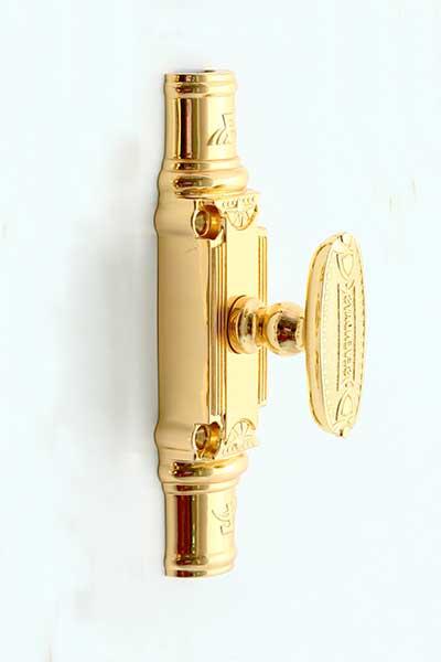 Clemon (cremone) đồng cửa đi vàng 24K 1