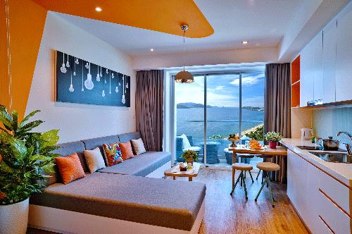 Nội thất theo phong cách Hawaii tại căn hộ khách sạn Ariyana Nha Trang 8