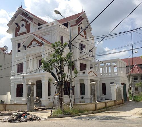 Biệt thự kiến trúc Pháp tại Phú Lộc 4 - Thành phố Lạng Sơn - tinh tế, độc đáo và nghệ thuật