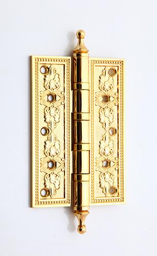 Bản lề lá đồng mạ vàng 24K 10F 1