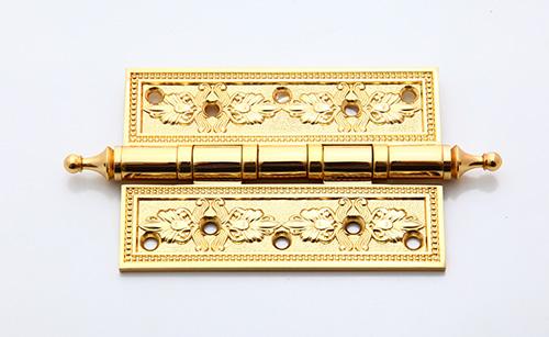 Bản lề lá đồng mạ vàng 24K 10F 2