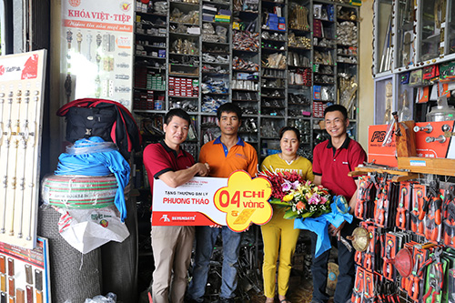 Chi nhánh ĐL Phương Thảo là cơ sở phân phối uy quyền của SEVENDAYS  ở Ninh Bình 2