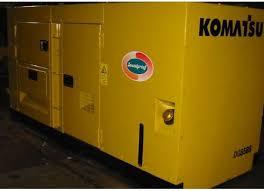 máy phát điện komatsu