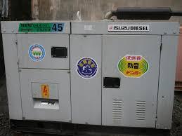 máy phát điện Mitsubishi 45kva cũ
