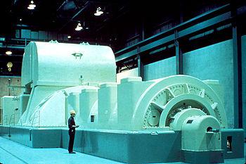 Tua bin máy phát điện hạt nhân