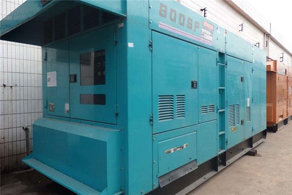 Máy phát điện cũ 800kva chất lượng 90%