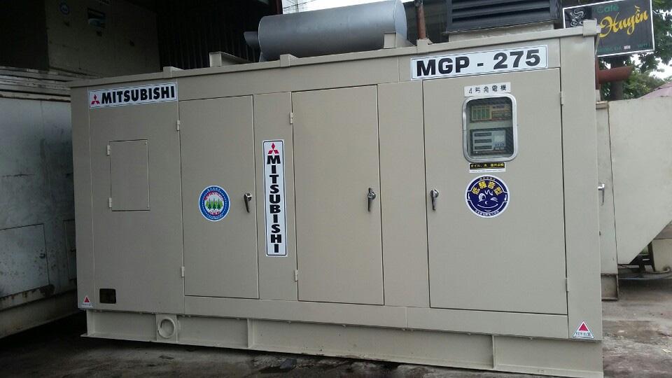 Máy phát điện Mitsubishi 275kva cũ