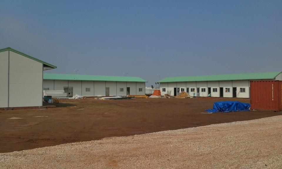 Nhà lắp ghép, lán trại công trình, nhà nhẹ, nhà lắp ghép vật liệu nhẹ