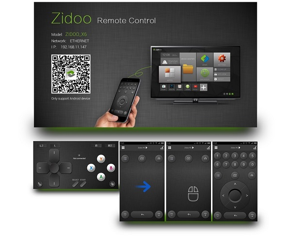 zidoo-remote-control