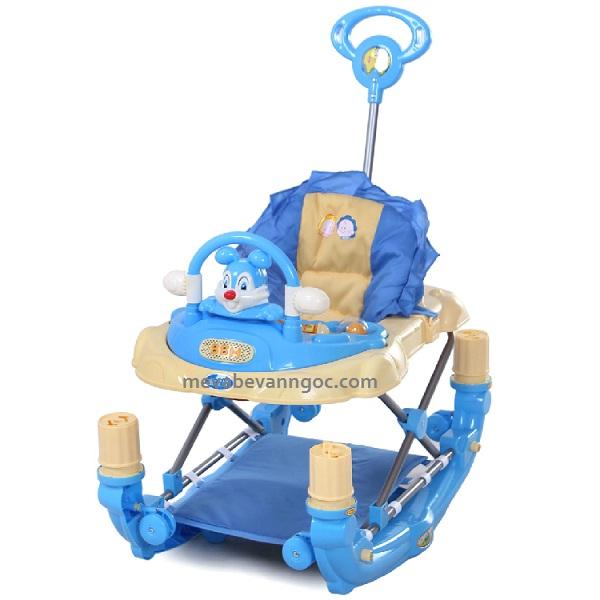 Xe tập đi đa năng cho em bé 3290E màu xanh