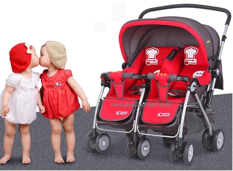 Xe đẩy đôi trẻ em Baobaohao 703R