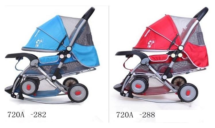Xe đẩy cho em bé đa năng có bập bênh 720A.