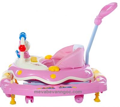 Xe tập đi trẻ em đa năng  6320 SYT màu hồng