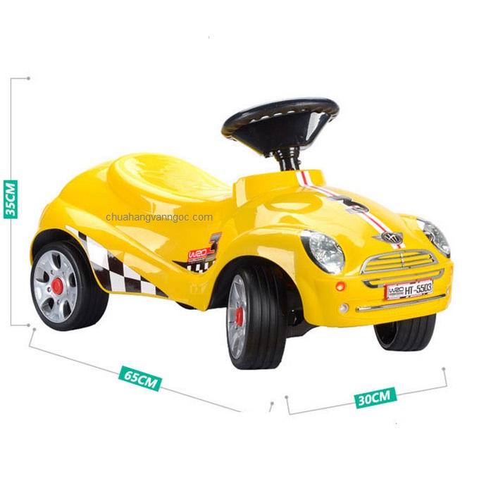 Xe chòi chân cho em bé HT-5503 màu đỏ