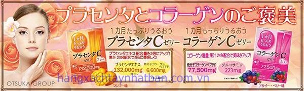 Collagen thạch rau câu Otsuka Skin C Jelly