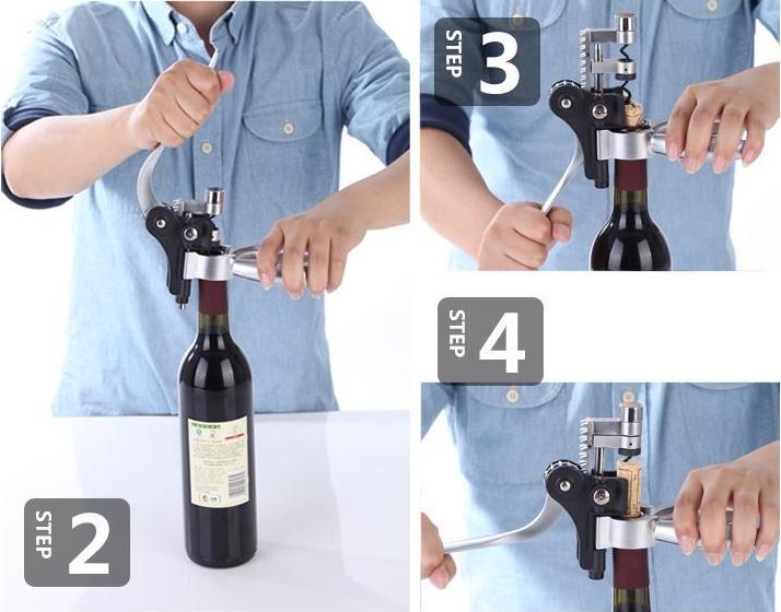 hướng dẫn mở rượu vang
