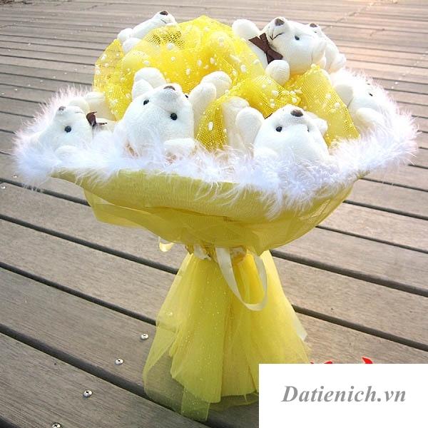 hoa gấu bông