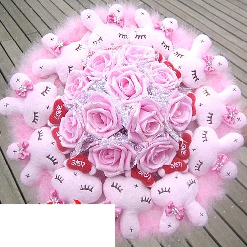 hoa gấu bông giá rẻ