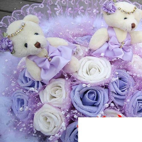 hoa gấu bông đẹp