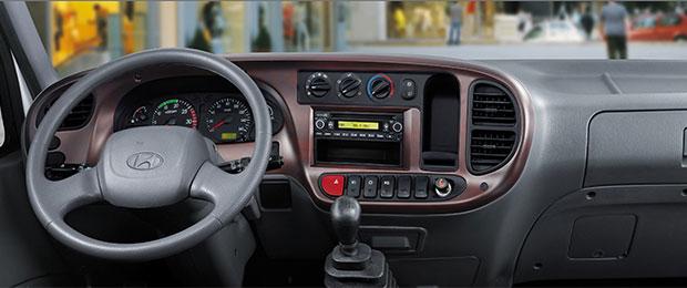 Nội thất Hyundai 120s