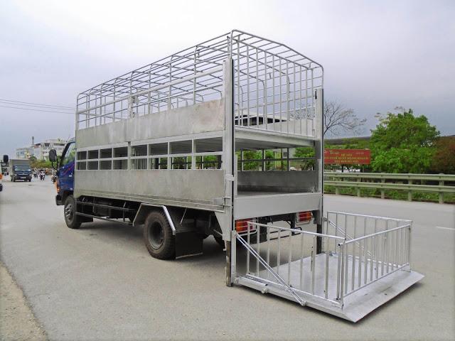 xe chở lợn 8 tấn Đô Thành