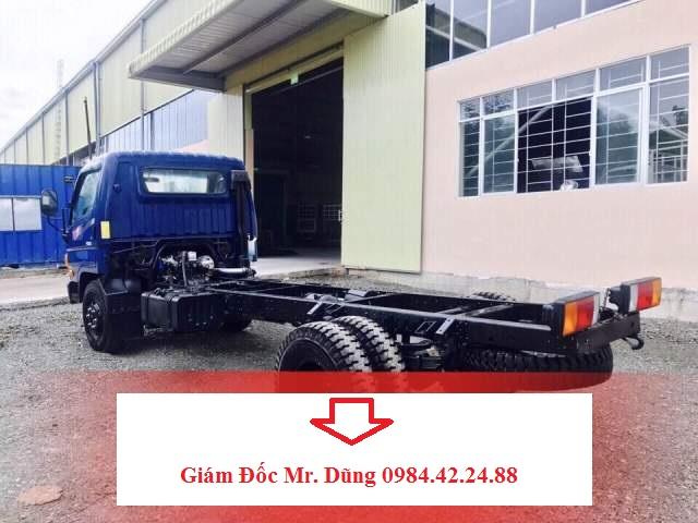 Xe Chassi Đô Thành HD120s