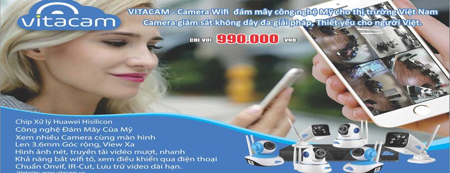 Camera Vitacam Đám Mây