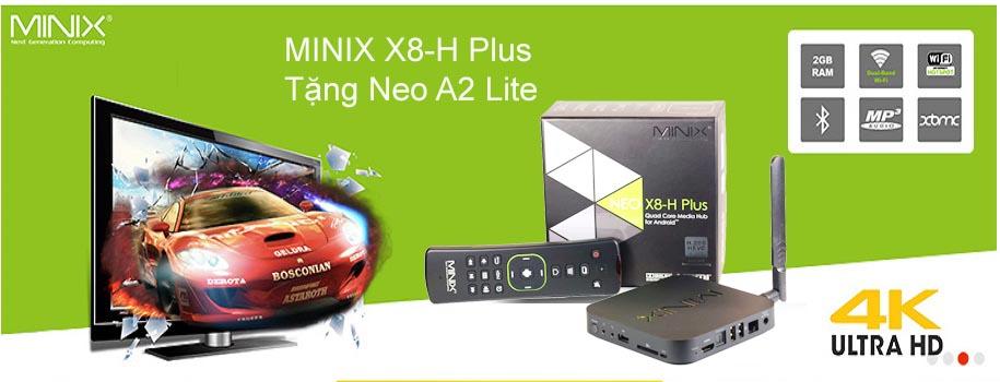 MINIX X8h Plus Banner