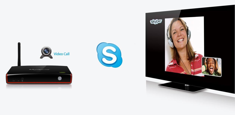 Mygica ATV1800E PLus hỗ trợ skype