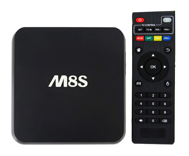 Android tv box M8S.