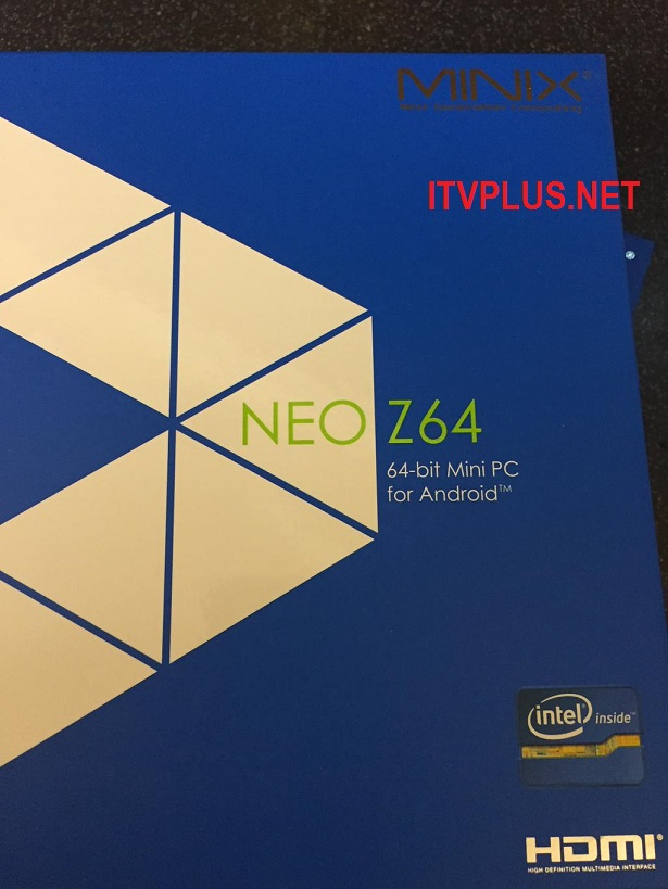 Android TV Box Minix Neo Z64A