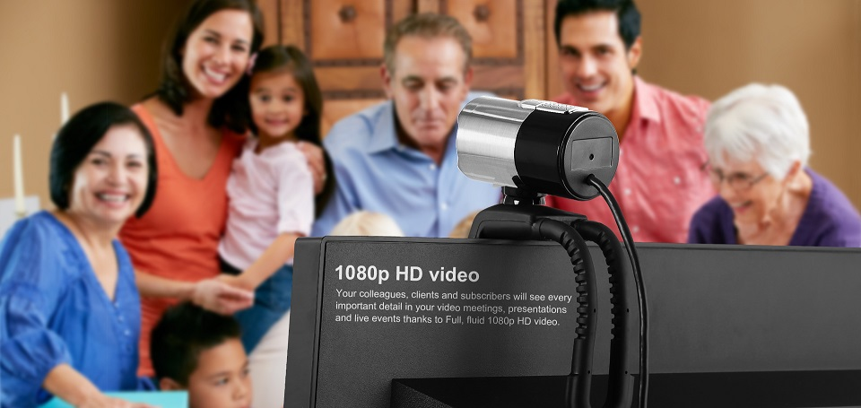 Webcam Ausdom AW335 full HD 1080p, 2mpx - 162534