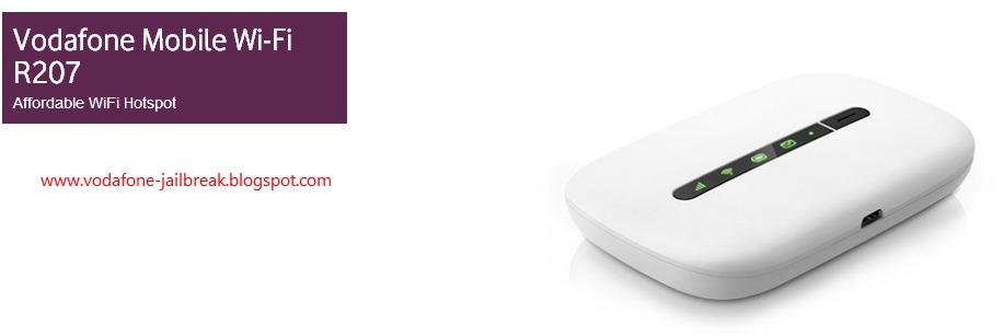 Bộ phát wifi di động Vodafone R207 phát 3G thành WIFI, tốc độ 21 6Mbps