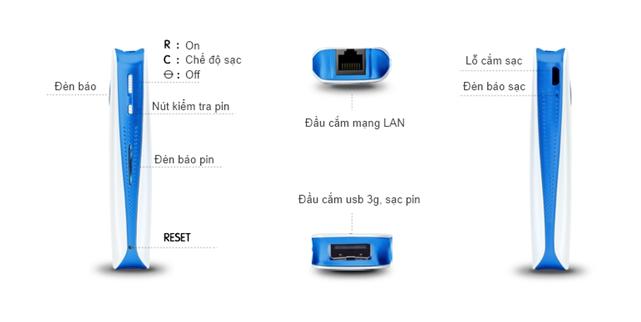 Cài Bộ Phát Wifi Đa Năng Hame Mpr-A1