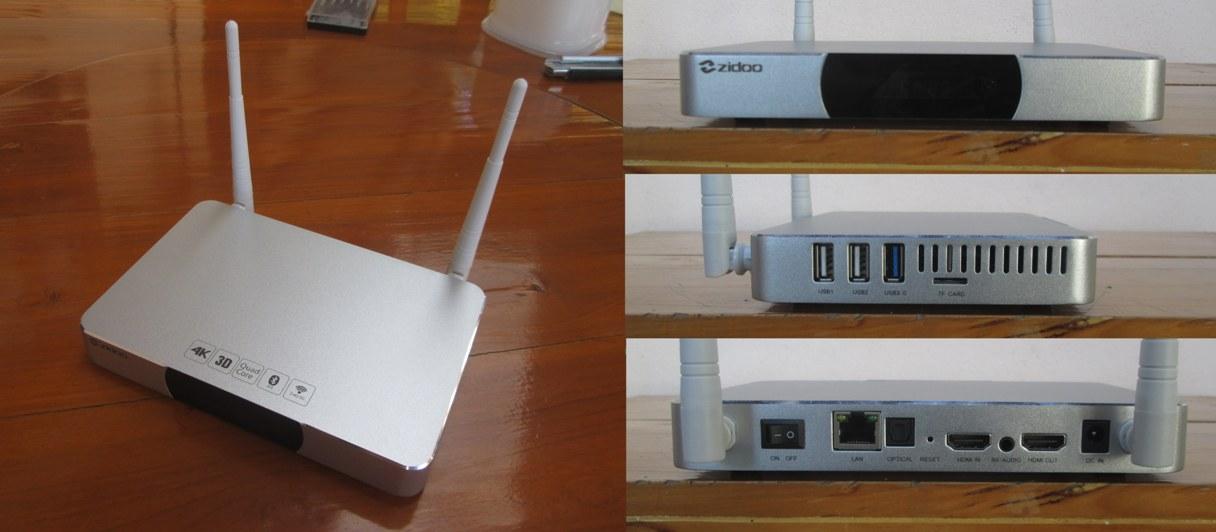 TV BOX ZIDOO X9S-3