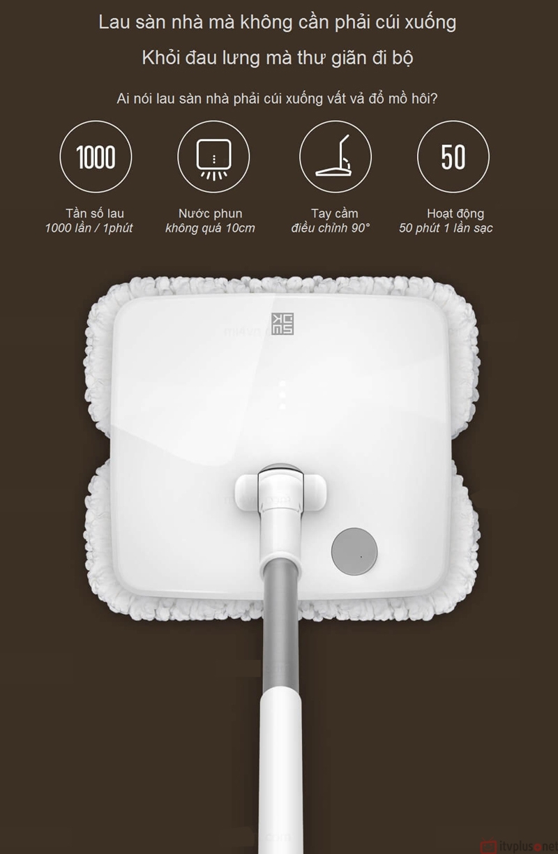 Máy lau nhà không dây thông minh xiaomi
