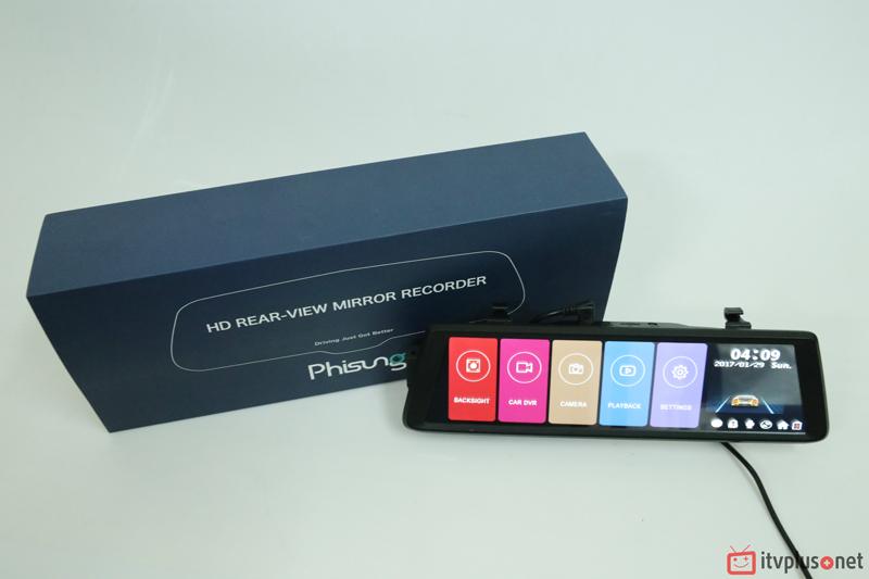 Camera hành trình oto Phisung F900