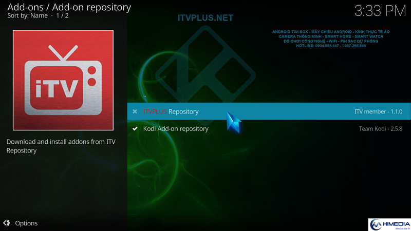 how to download 17.1 krypton on android box