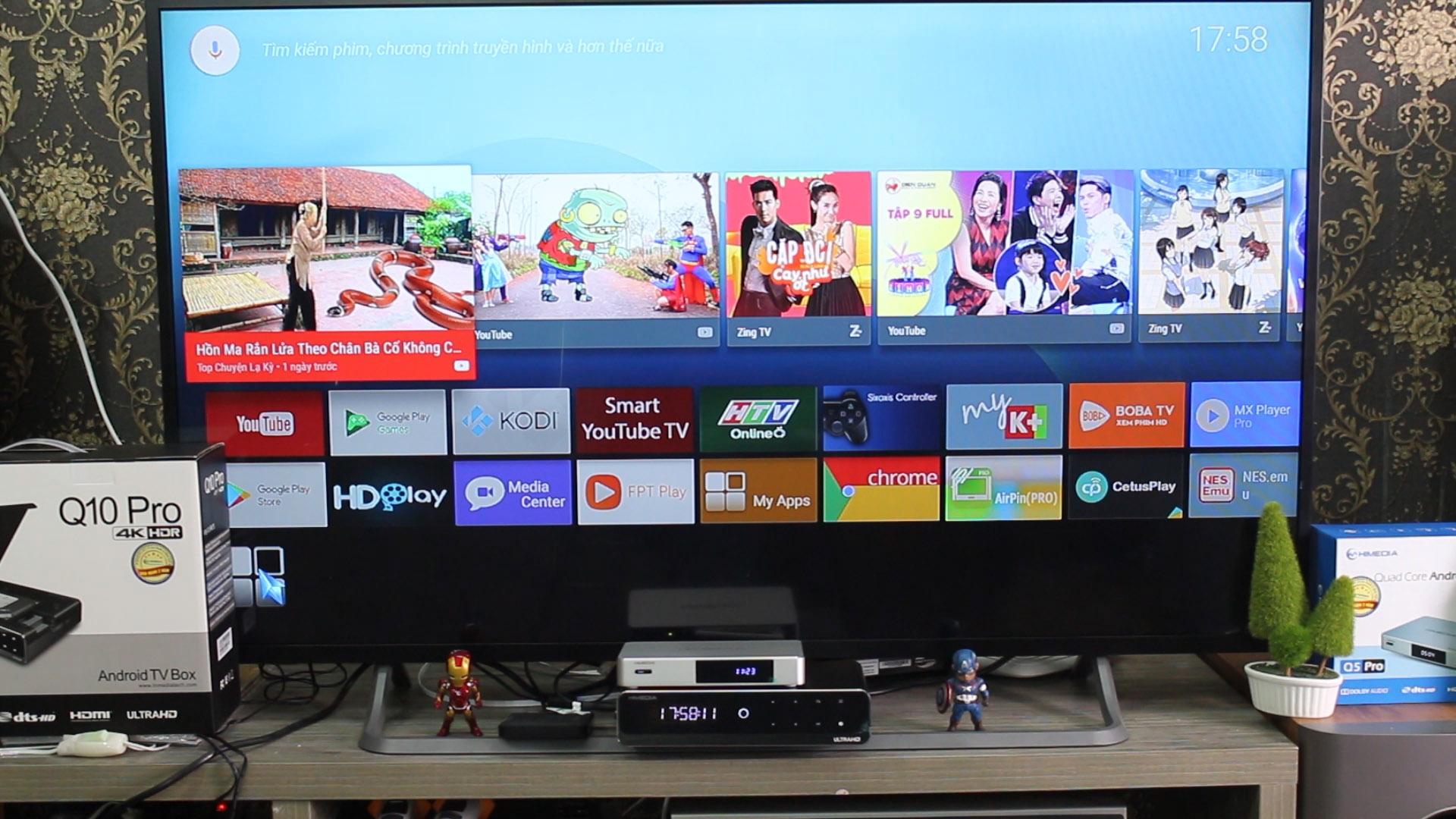 Firmware Android TV Google 7 0 Cho HIMEDIA Q10 Pro và Q5 Pro Phiên