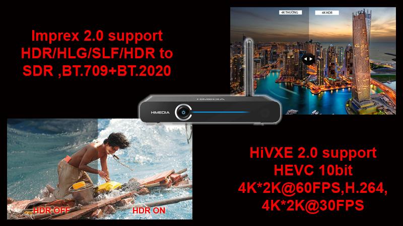 Đầu himedia công nghệ HDR