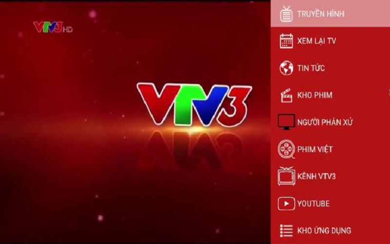 Tính năng xem truyền hình trên vtv go v1
