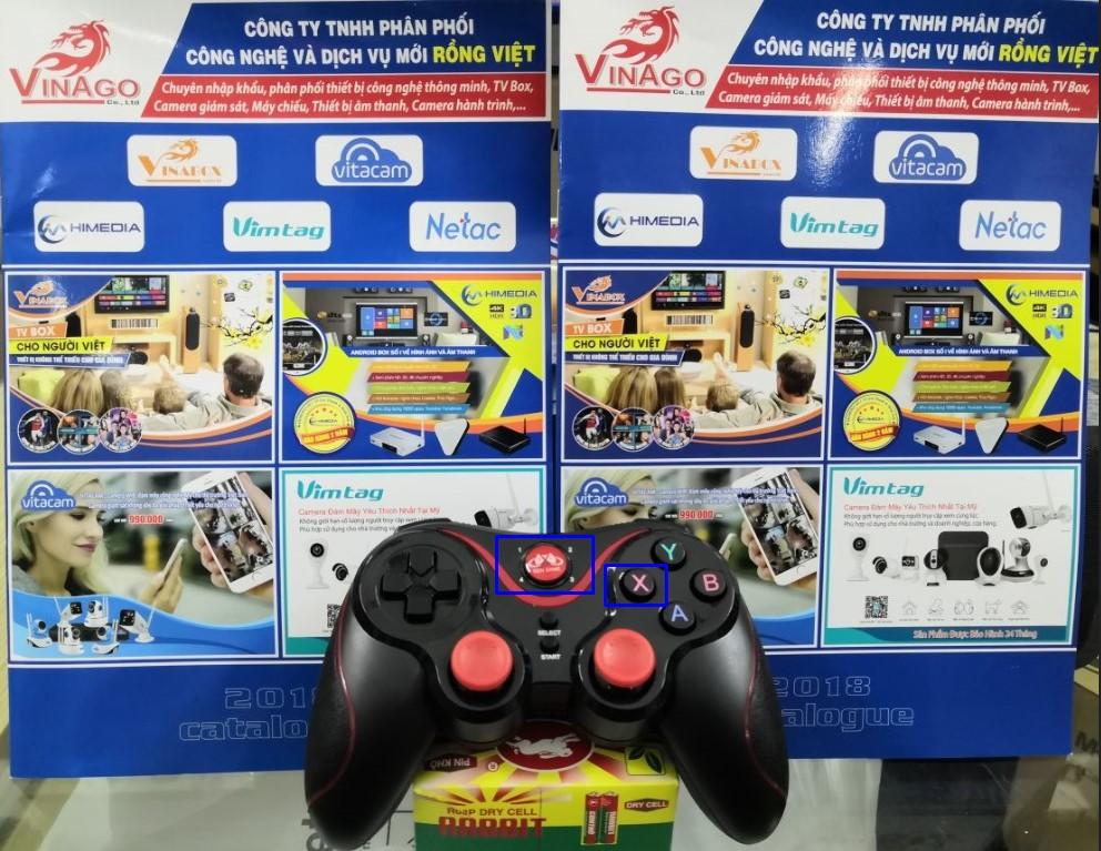 Hướng dẫn kết nối tay cầm chơi game không dây bluetooth Gen Game S5