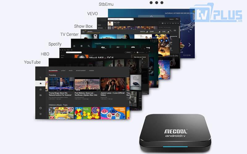 mecool km9 pro chạy android tv 9.0 ram 4gb rom 32gb - tính năng tìm kiếm bằng giọng nói nhạy - hình 23