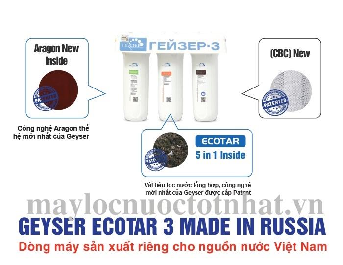 tính năng geyser ecotar 3