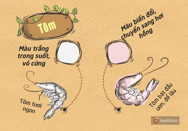 Nhận biết thực phẩm tươi, sạch chỉ nhờ nhìn màu sắc - Ảnh 8.