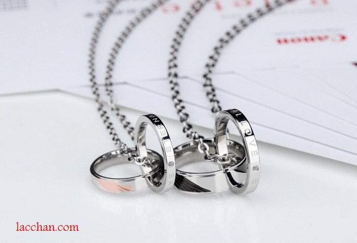 Dây chuyền đôi mặt chiếc nhẫn-04
